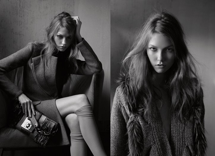 Pringle of Scotland F_W 09-10 - Karlie Kloss by Fabien Baron