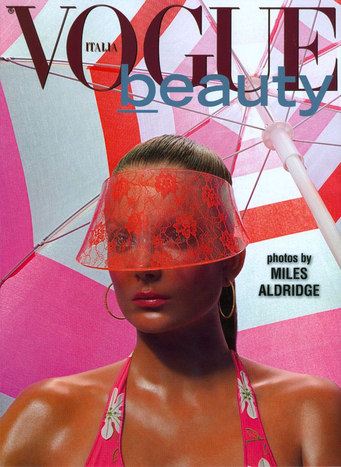 Vogue Italia Beauty May 2012 Enikő Mihalik by Miles Aldreidge